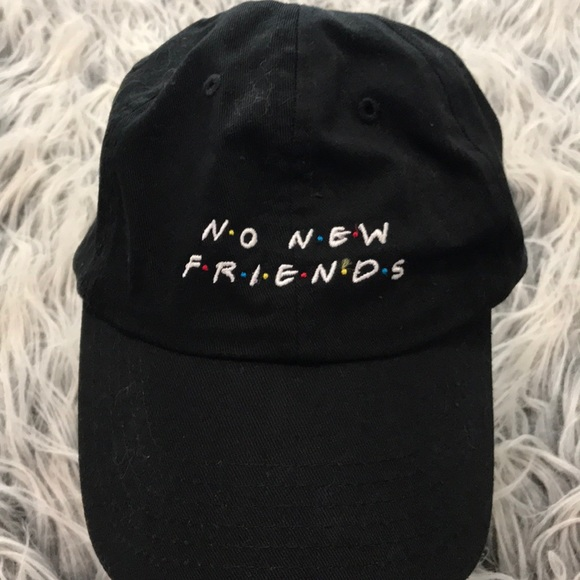 "2ca4dcc1a ""No New Friends"" Dad Hat"